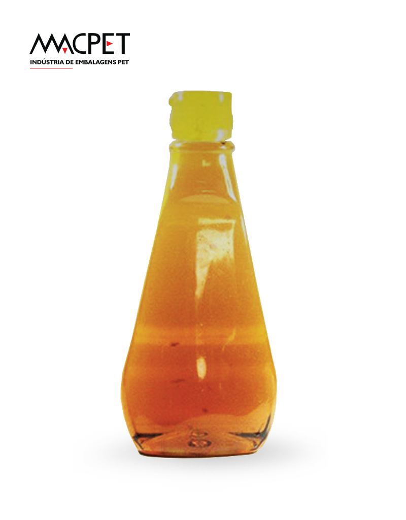 LINHA 10 – 720ml (1kg) – Bocal 28mm – (F061A) –  Embalagem Pet para Mel