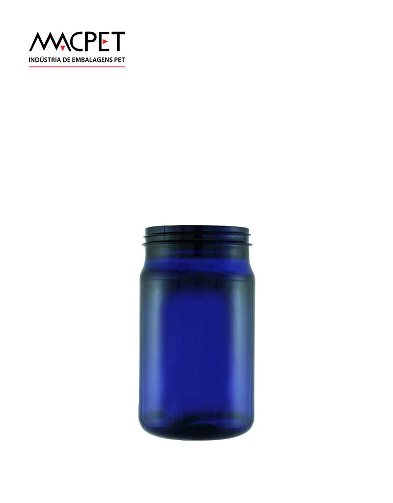 LINHA 07 – 300ml – Bocal 63mm – (F036A) – Embalagem pet Redonda para Potes