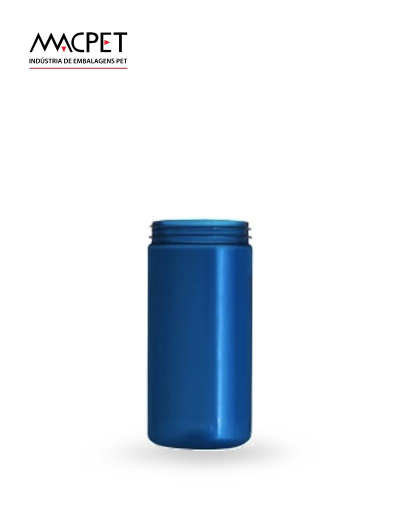 LINHA 07 – 400ml – Bocal 63mm – (F037) – Embalagem pet Redonda para Potes