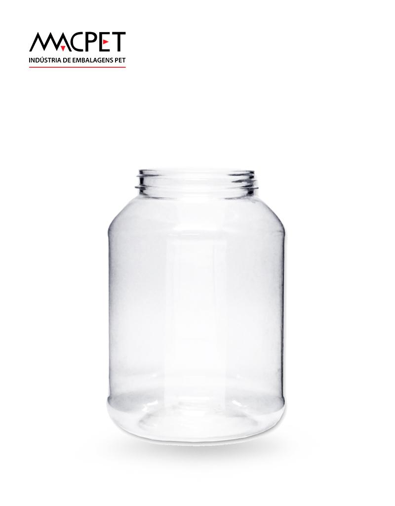 LINHA 07 – 720ml – Bocal 63mm – (F040) – Embalagem pet Redonda para Potes