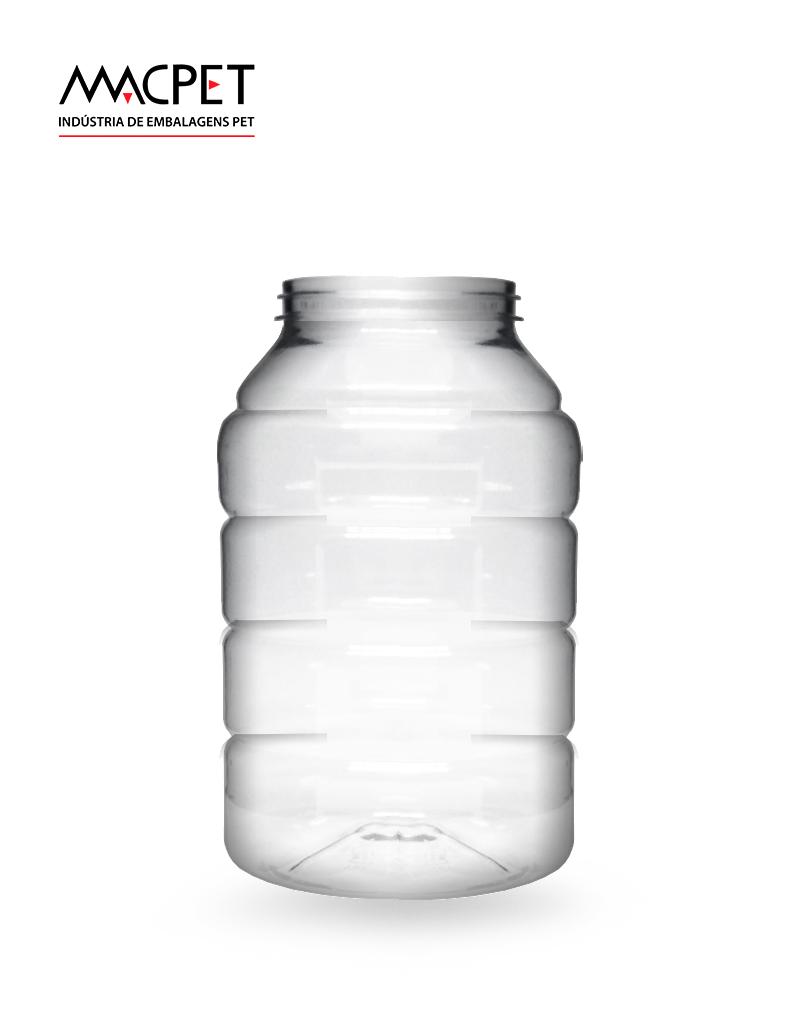 LINHA 07 – 900ml – Bocal 63mm – (F138) – Embalagem pet Redonda para Potes