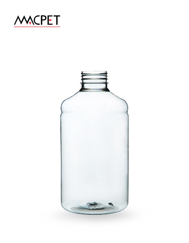 LINHA 6 – 1000ml – Bocal 38mm – (F032B) – Embalagem pet Redonda para Capsulas e Suplementos