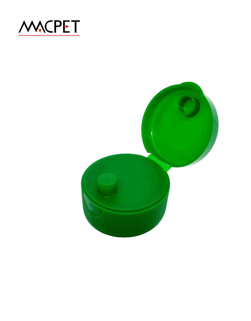 Flip Top – 38mm (Pressão / Batoque) – Furo Fechado – Ref. T1