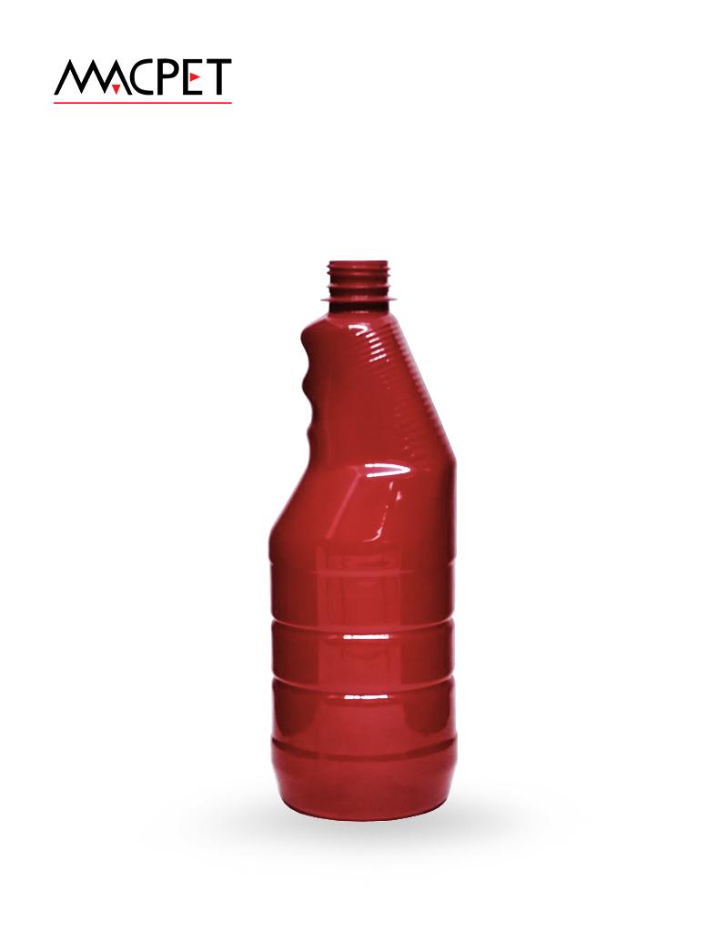 LINHA 37 – 750ml – 28mm – (F157) – Embalagem pet Redonda para Saneantes