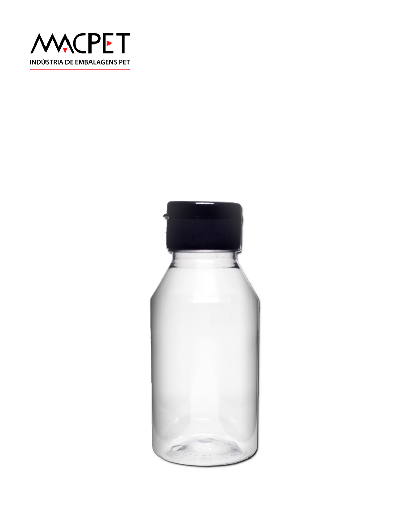 LINHA 41 – 250ml – 38mm – (F024B) – Embalagem pet Redonda para Molhos e Temperos