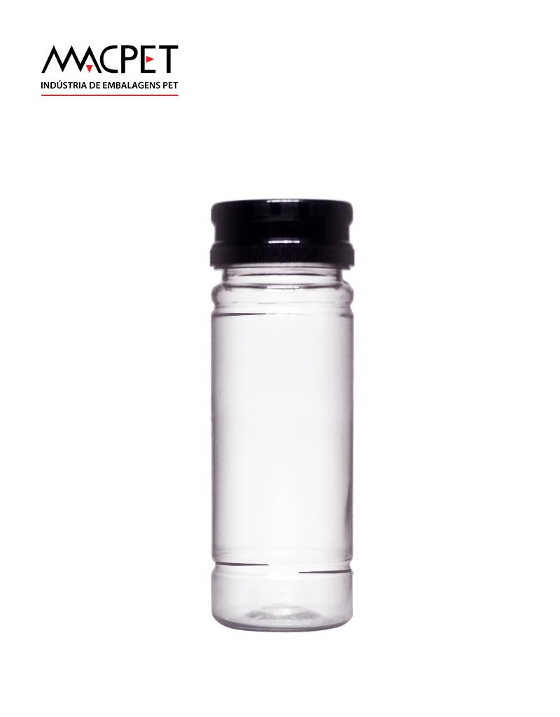 LINHA 39 – 120ml – 38mm – (F178) – Embalagem pet Redonda para Molhos e Temperos