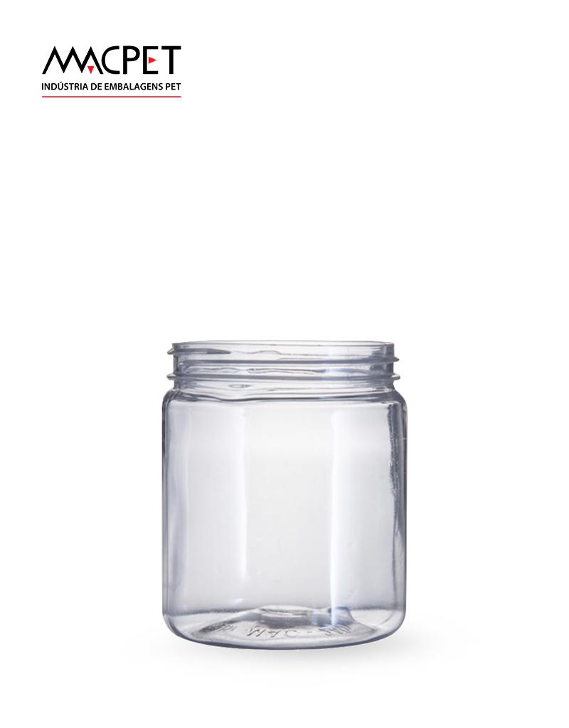 LINHA 07 – 220ml – Bocal 63mm – (F035) –  Embalagem pet Redonda para Molhos e Temperos