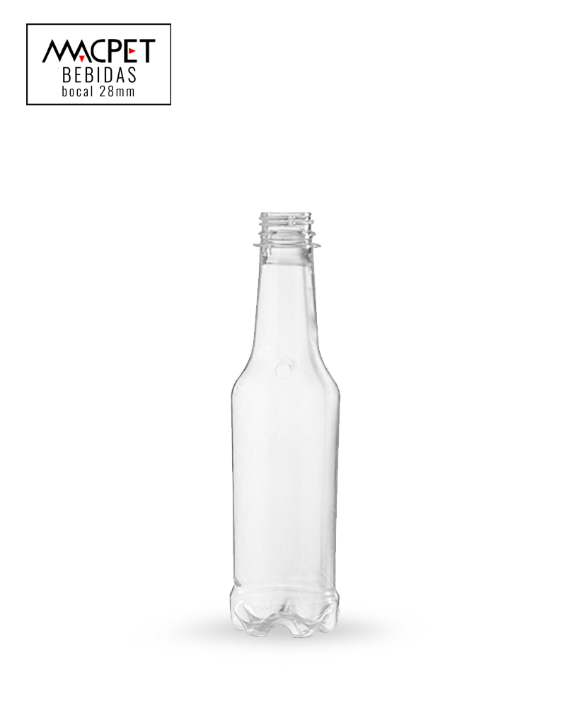 LINHA 29 – 300ml – Bocal 28mm – (F142) – Embalagem pet Redonda para Cerveja