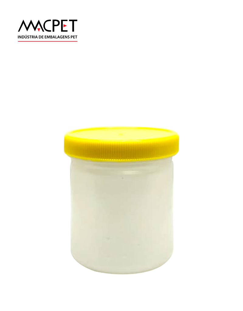 LINHA 07 – 180ml – Bocal 63mm – (F034) – Embalagem pet Redonda para Potes
