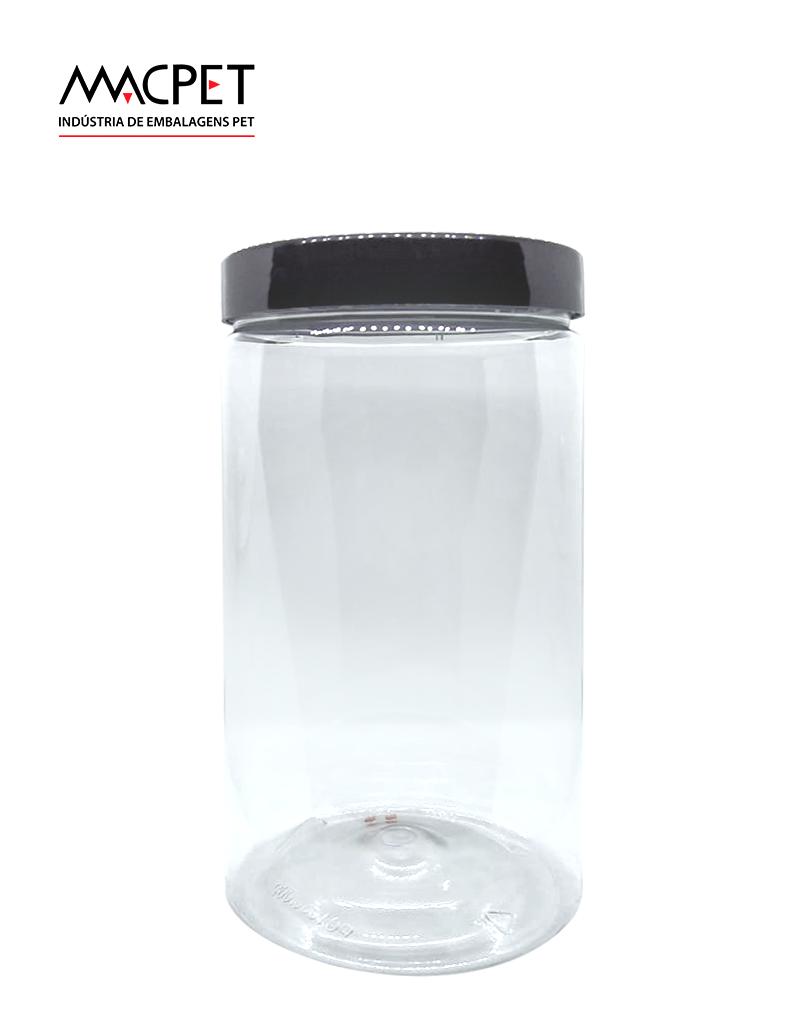 LINHA 09 – 1000ml – Bocal 89mm – (F269) – Embalagem pet Redonda para Potes