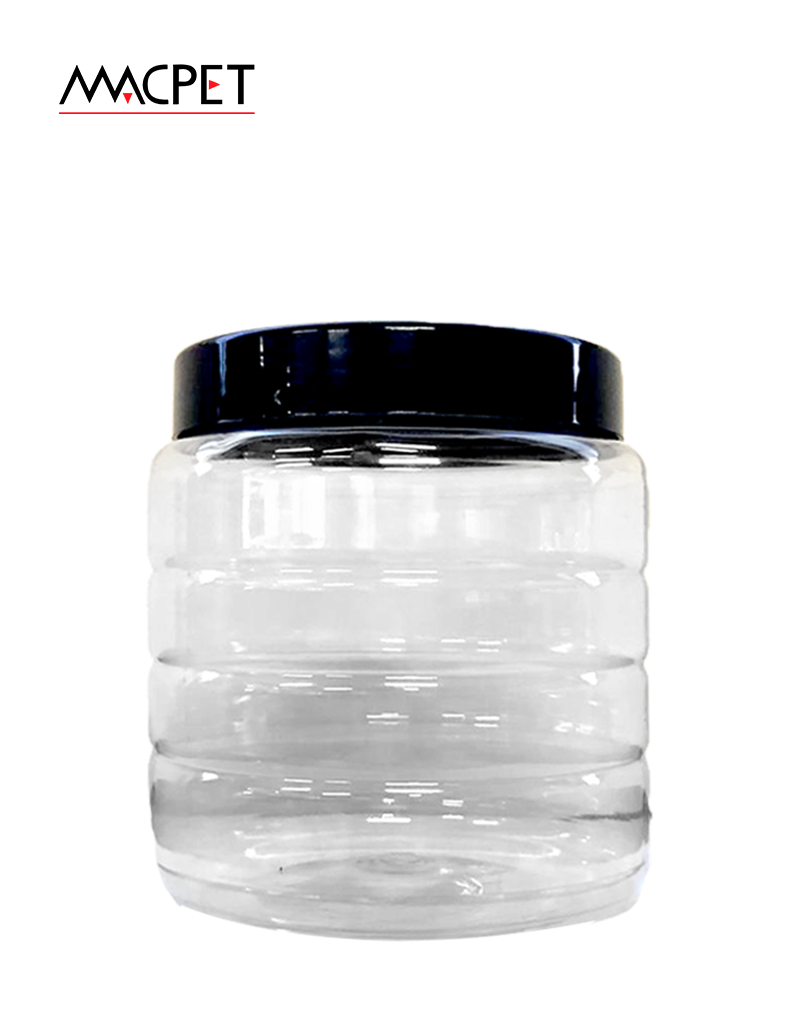LINHA 16 – 750ml – Bocal 89mm – (F259) – Embalagem pet Redonda para Potes